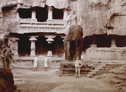 Ellora. The [Kailasanatha] Caves.